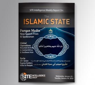 Weekly inSITE on the Islamic State for January 22-28, 2020