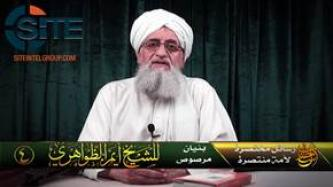 Zawahiri Calls Fighters to Unite, Attacks IS for Creating and Maintaining Division