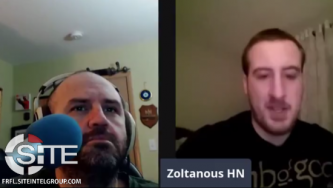 """Zoltanous HN"" Discusses His Radicalization, Manifesto, Political Goals in Podcast Appearance"